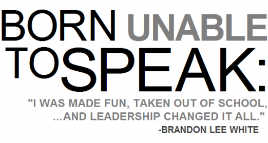 Brandon White speaker